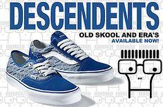 Descendents Vans Old Skool + Era.