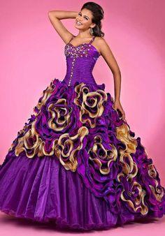 Landa Quinceanera AQ23 at Prom Dress Shop