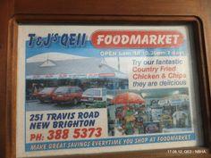 T & J's QEII Foodmarket, 251 Travis Road, New Brighton, Christchurch, New Zealand