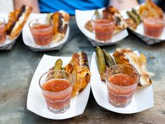 From prosciutto-wrapped persimmons to grilled cheese and tomato soup shooters, these apps are sure to delight. Try out these 25 appetizers your guests will love at your wedding! Wedding Reception Food, Wedding Catering, Wedding Ideas, Wedding Planning, Wedding Pictures, Event Planning, Wedding Details, Wedding Ceremony, Wedding Decorations