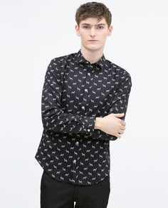 Image 2 of Zebra print shirt from Zara