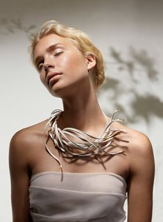 Enchanting Finland is a stunning line of handmade jewelry made by Chao-Hsien Kuo. Delicate and ethereal, the collection is inspired by a tall, purple-pink flowing wildflower that grows by the side of the roads in Finland. http://design-milk.com/ethereal-jewelry-inspired-finnish-fireweed/