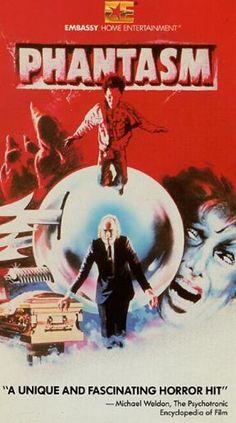 My favorite horror movie, Phantasm - Embassy Home Entertainment VHS Covers