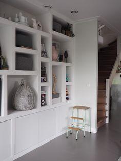 Bookshelves, Bookcase, Shelving Systems, Piece A Vivre, Spare Room, Home Living Room, Floating Shelves, Sweet Home, New Homes
