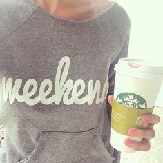 Love this weekend sweatshirt http://rstyle.me/n/pmqxvnyg6