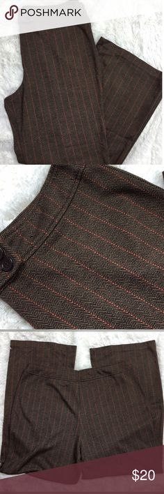 "NY&Co Stretch Tweed Trousers NY&Co Stretch Tweed Trousers Look like tweed, feels super soft & stretchy Size XL Waist 18""across, 12.5""rise, 31""inseam 68%poly, 31%rayon, 1%spandex Gently worn, no flaws ‼️REASONABLE OFFERS CONSIDERED‼️ Create a bundle for 15% off! 😋✌️❌NO TRADES❌ New York & Company Pants"