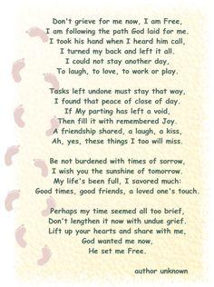 In Loving Memory ....