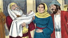Lesson 2 - A Study of Luke:  Luke 2:22-38 Simeon and Anna See Jesus -Free Bible Lesson for Children