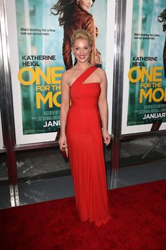 Katherine Heigl wows at One for the Money premiere