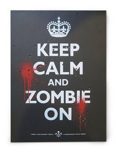 Poster Zombies