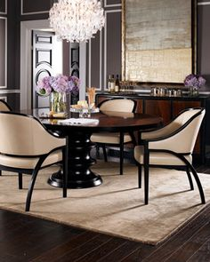 """#Horchow Love Bernhardt!!!! """"Stella"""" Dining Table by Bernhardt at Horchow."""