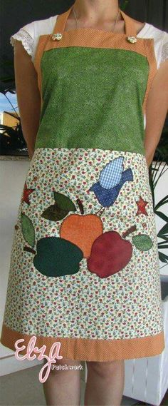Sewing Tips & Tutorials Types Of Dresses, Cute Dresses, Sewing Hacks, Sewing Projects, Jean Apron, Apron Dress, Love Sewing, Upcycled Vintage, Quilts