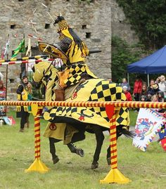 our work for knights and their horses