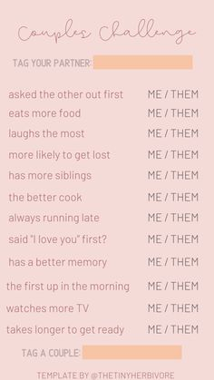Games & Extras Templates - The Tiny Herbivore Fun Couples Quiz, Bingo Template, Templates Free, Instagram Story Template, Instagram Templates, I Loved You First, Instagram Story Questions, Question Game, Free Instagram