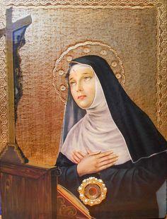 St Rita of Cascia | saintnook.com/saints/ritaofcascia |  St. Rita of Cascia, pray for us