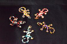 Gecko Gaudí Parc Güell Barcelona abalorios artesanía por YBatchi