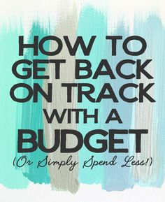 """Take A Fiscal Fast If your budget feels out of control, it might be time to simply hit the """"reset"""" button and break a bad habit. You may not need to set up a 30 day no spend cha…"""