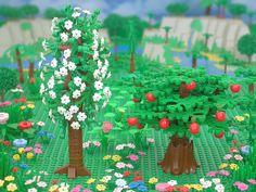 Image result for garden of eden, lego