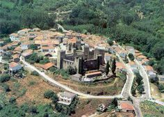 Castillo del Paraíso, Montemayor del Río, comarca de la Sierra de Bejar en Salamanca, situado en un enclave importante en la vía de la Plata en época romana