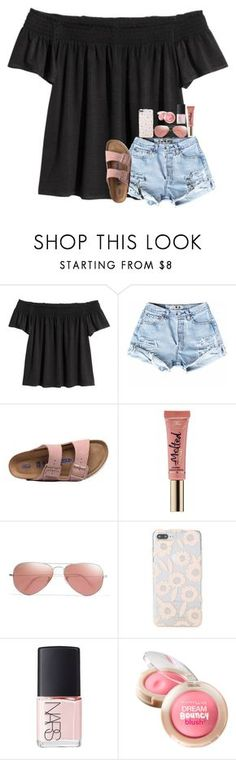 """RTD!!!!! EXTREMELY IMPORTANT!!!!"" by southerngirl03 ❤ liked on Polyvore featuring Birkenstock, Too Faced Cosmetics, Ray-Ban, Kate Spade, NARS Cosmetics, Maybelline, pray, prayfortricia, prayersforT and prayforT"
