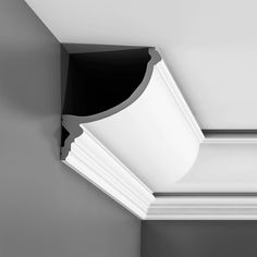 Cornice Moulding For Indirect Lighting Cornice Moulding, Crown Molding, Indirect Lighting, Lighting System, Flexible Molding, Orac Decor, Classic Ceiling, Wall Lights, Face