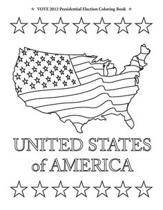 Free Coloring Pages for Kids. George Washington Our First President ...