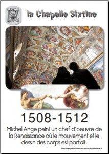 16 affiches repères sur le XVI : Renaissance, Grandes Découvertes, Guerres de religion