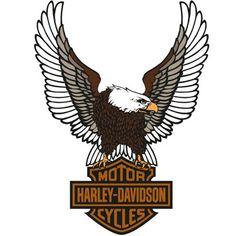 harley davidson eagle logo | Fathead Harley-Davidson Eagle Logo Wall Graphic - BJ's Wholesale Club