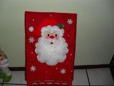 forros para respaldo de sillas navideños - Buscar con Google
