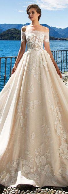 Wedding Dress by Milla Nova White Desire 2017 Bridal Collection - Kristina