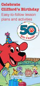 This site feature Interactive storybooks staring Clifford.  The books are in english and spanish.  There are also literature games that go with each book.  Games included are Concentration, Make a Word, Letter Match and Sound Match.