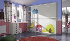 Habitación infantil temática paisajes dibujos animados KD3