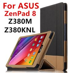 Case For ASUS ZenPad 8.0 Z380M Protective Smart cover Leather Tablet For ASUS ZenPad 8 Z380KNL Z380C Z380KL PU Protector Sleeve