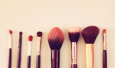 A Simple, All-Natural Technique For Cleaning Your Makeup Brushes