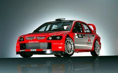 Mitsubishi Evo WRC rally car