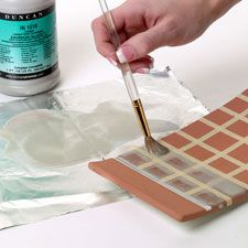 Pottery Rubbing Alcohol , a blog with lots of techniques