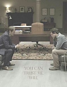 Even after the season finale, I still love the friendship between Will and Hannibal. I can only wonder how they're going to play out season 2.