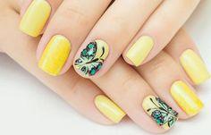 Diseños para manicure, Diseños para manicure para adolescentes.   #uñas #nailart #uñasdiscretas