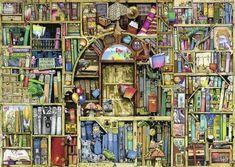 Magisches Bücherregal ...  Puzzle von Ravensburg