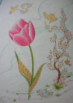 Klasik Türk Sanatları Vakfı Islamic Art Museum, Arabian Art, Persian Pattern, Islamic Patterns, Coloring Tutorial, Turkish Art, Bird Wallpaper, Photography Illustration, Tile Art