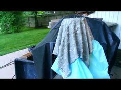 Как сделать кашпо из ткани или тряпок и цемента. Часть 2 - YouTube