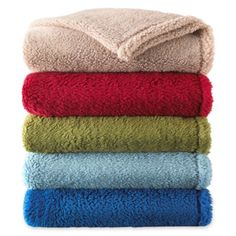 Sunbeam® Lofty Plush Throw  found at @JCPenney on sale for $20