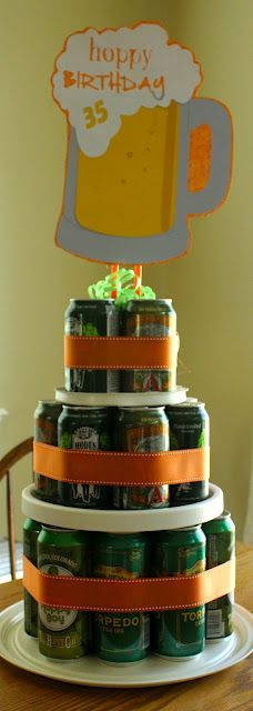 Beer Birthday Cake for him