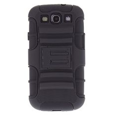 Rugged Heavy Duty Case with Belt Clip Holster Kickstand for Samsung Galaxy S3 I9300 – USD $ 6.99