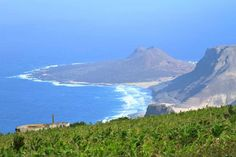 Superb views from Monte Verde - Sao Vicente Island