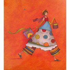 "Gaëlle Boissonnard poster (30x30 cm) ""Shopping"""