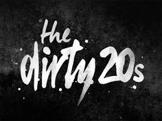 Dirty 20s Logo by Kate Crumrine