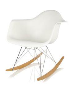 Vitra. Eames RAR schommelstoel