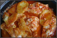 Fish Recipes, Seafood Recipes, Cooking Recipes, Healthy Recipes, Cod Fish, Small Meals, Portuguese Recipes, Fish Dishes, Fish And Seafood