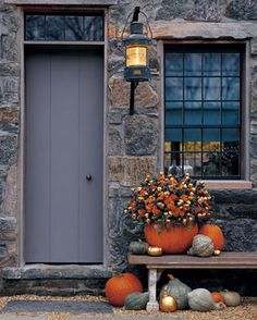 Fall Front Door Ideas Perfect for Halloween Too